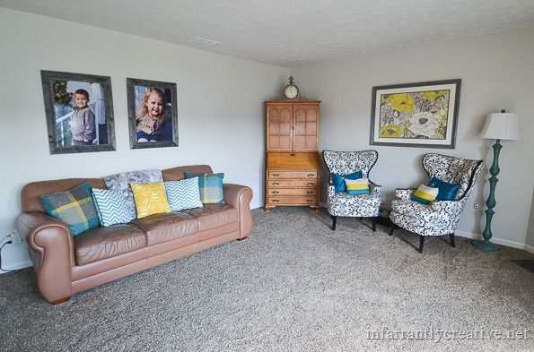 infarrantly creative family room