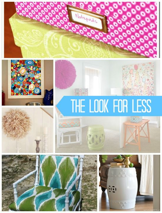 5 Ways to Get This Look: Colorful Office