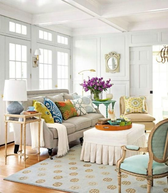 5 ways to get this look summery living room