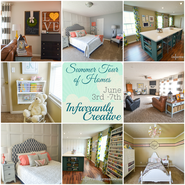 infarrantly creative home tour