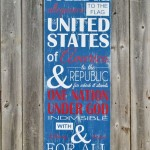 subway art patriotic sign