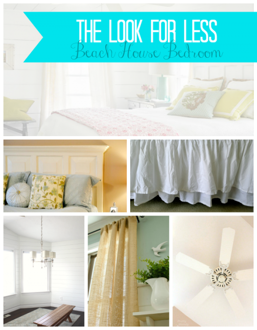 Coastal Bedroom Collage Feature Pic