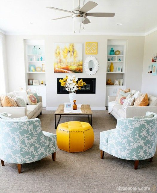 Hiya Papaya living room inspiration