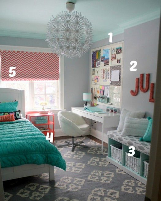 House of Turquoise Inspiration Photo Numbered