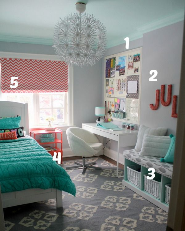 5 ways to get this look small but fun tween girl 39 s room infarrantly creative - Creative ideas for girls room ...