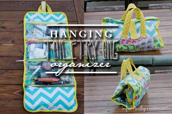Hanging Toiletry Bag Organizer Infarrantly Creative