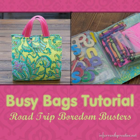 Busy Bag Tutorial Infarrantly Creative