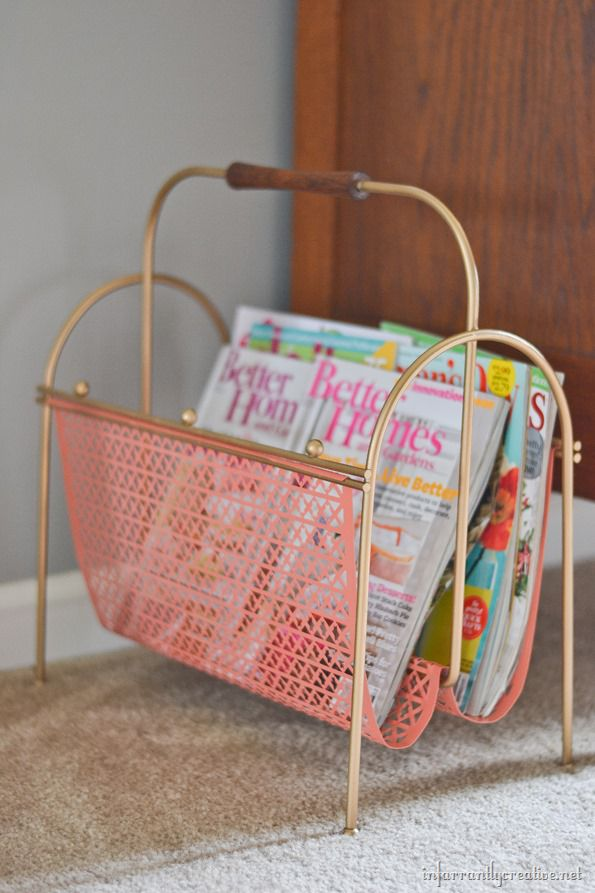 magazine-rack-painted