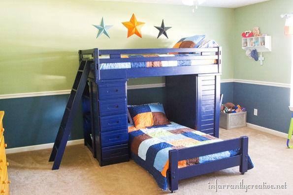 navy-blue-bunkbeds