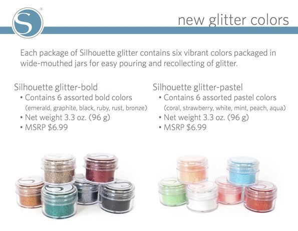 new glitter colors