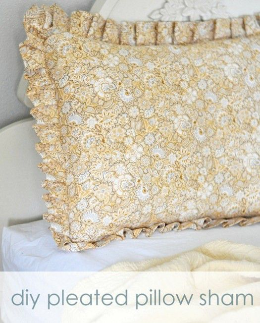 Centsational Girl pillow sham tutorial