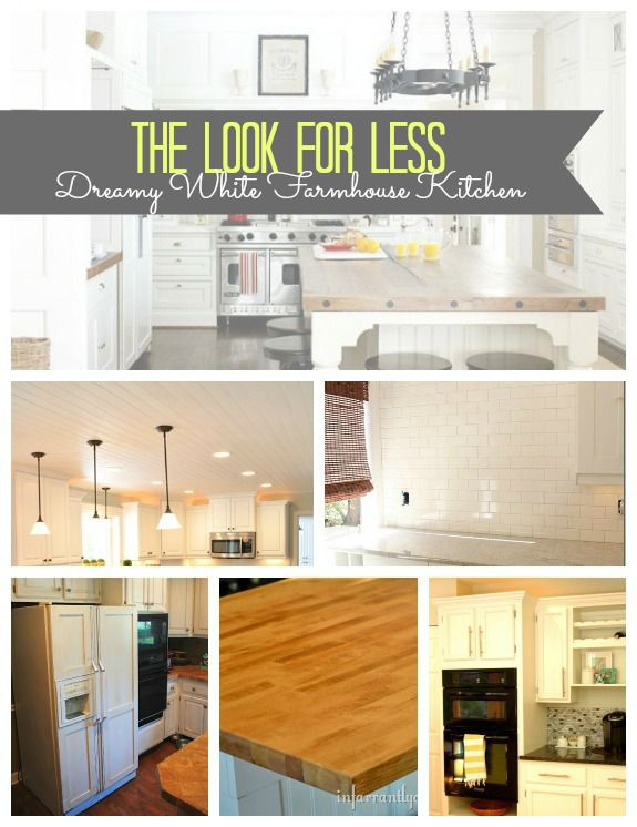 Dreamy Kitchen Get The Look Collage