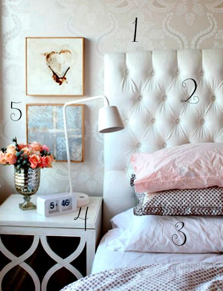 5 Ways to Get This Look:  Soft, Tranquil Bedroom