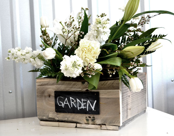 Ana White garden box