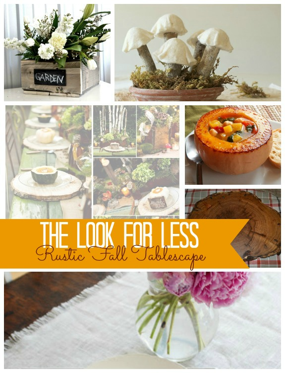 Fall Tablescape Collage
