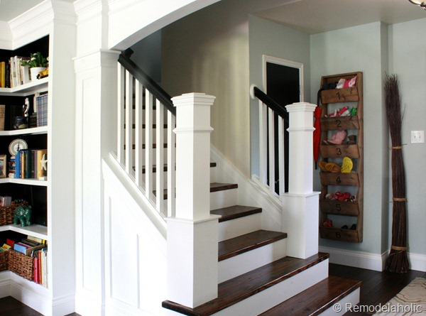 5 Ways To Get This Look Farmhouse Style Staircase