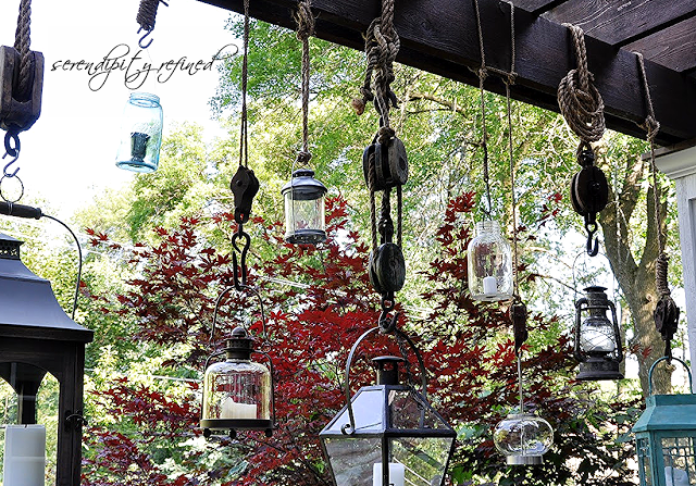 Serendipity Redefined hanging lanterns