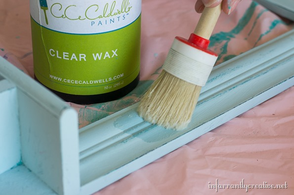 cece caldwell clear wax