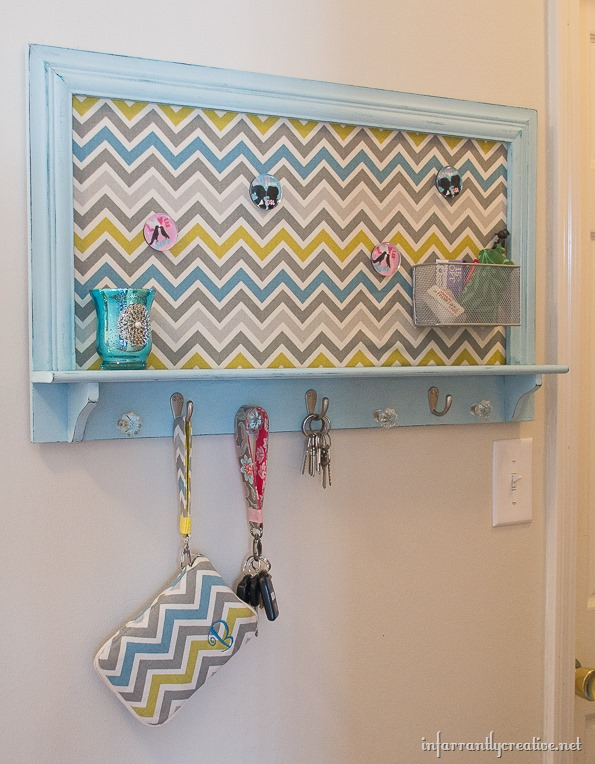 chevron key holder
