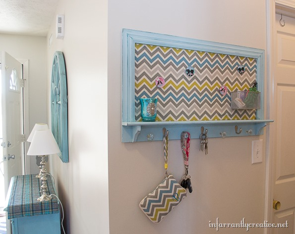 chevron key memo board