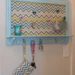 chevron key rack holder