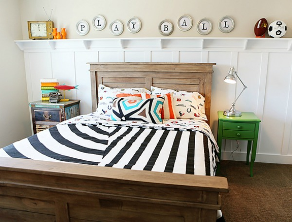 5 Ways to Get This Look:  Rustic Boy's Bedroom