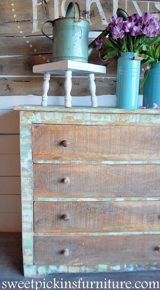 Sweet Pickins Furniture chippy paint 2