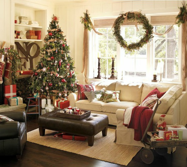 PB Christmas Living Room inspiration
