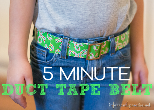 Duck Tape Belt