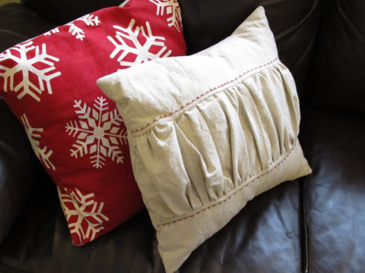 A House in Holland snowflake pillow
