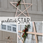 Yardstick Star Outdoor ChristmasDecorating_thumb