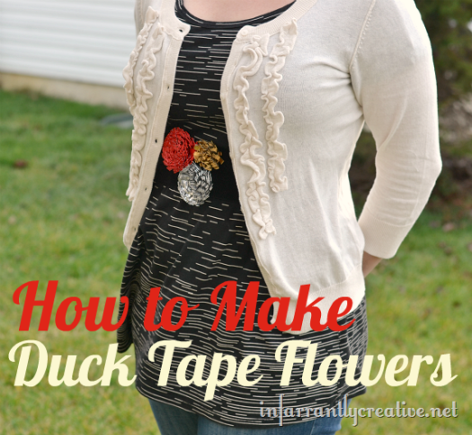 Duck Tape® Flower Belt Instructions