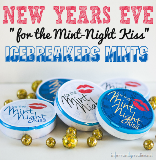 Free Printable New Years Eve Favor