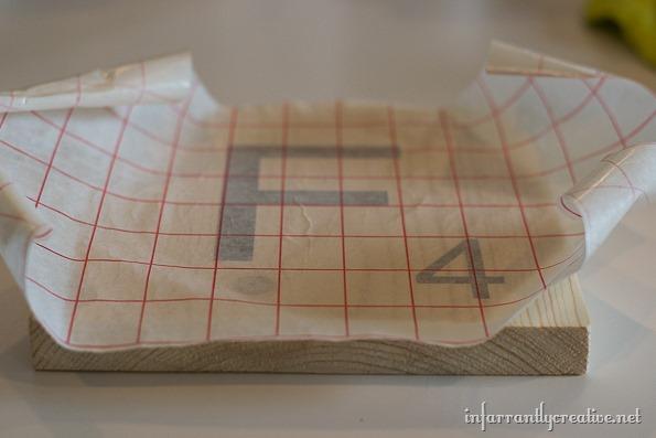vinyl letter scrabble tiles