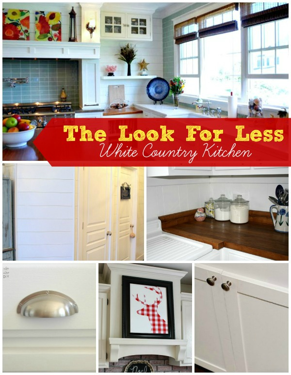 5 Ways To Get This Look White Country Kitchen Infarrantly Creative