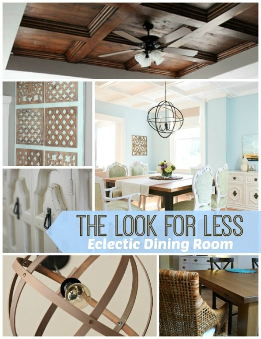 5 Ways to Get This Look:  Eclectic Dining Room