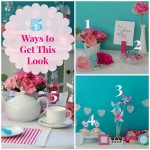 5 Ways to Get This Look Valentine Tea collage