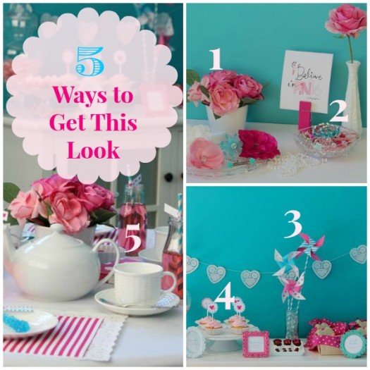 5 Ways to Get This Look:  Valentine Tea