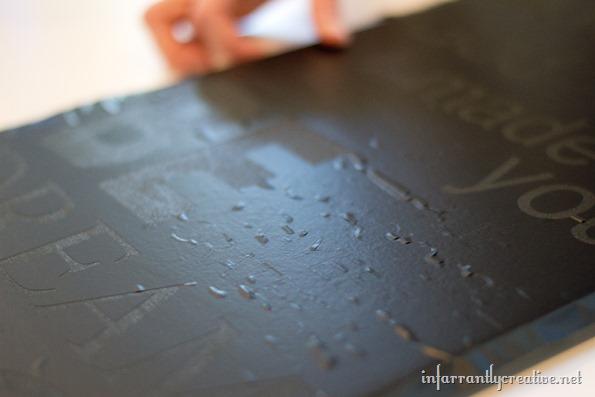 vinyl as a stencil