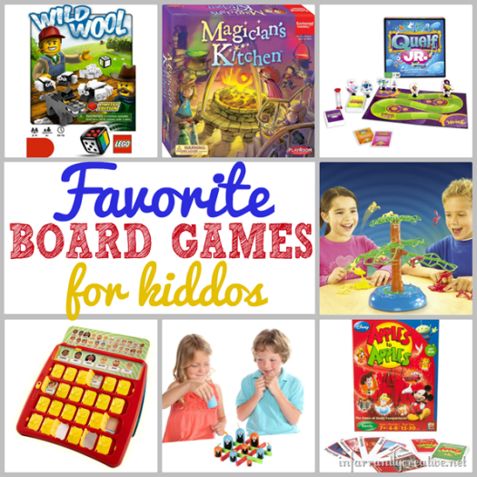Family Games to Play with Young Kids (10 and under)
