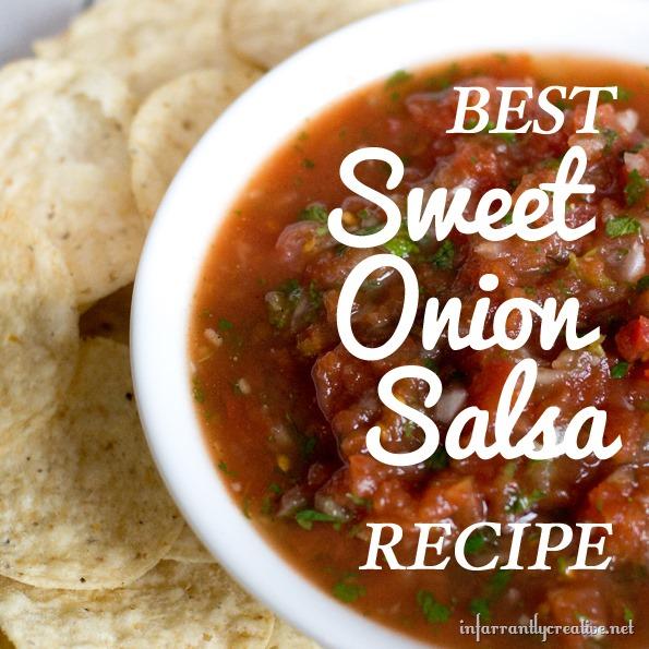 best ever sweet onion salsa recipe