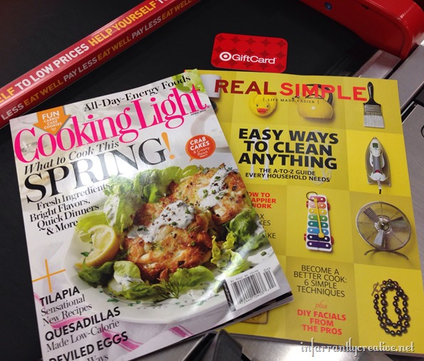 cooking light and real simple magazine