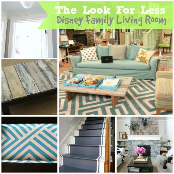 5 Ways To Get This Look: Disney Family Living Room   Infarrantly Creative Part 33