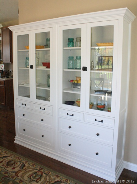 Ikea Hack Kitchen Cabinet Into Hutch