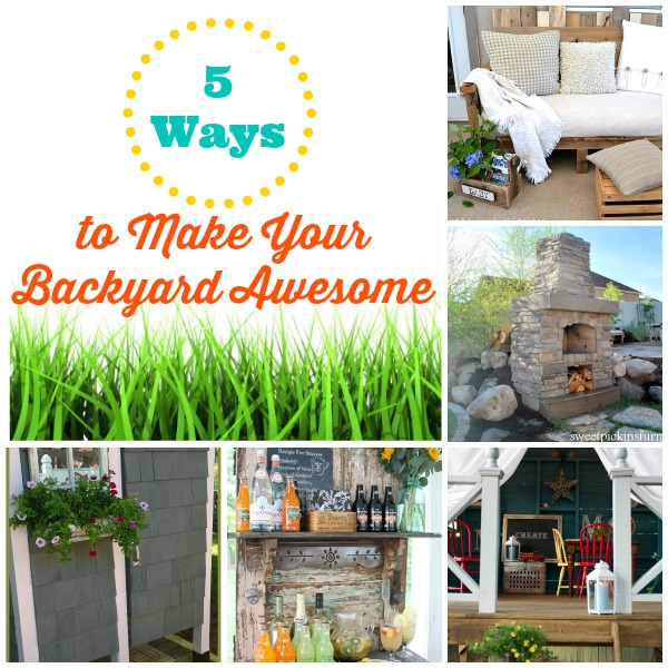Awesome Backyards With Pools: 5 Ways To Make Your Backyard Awesome!