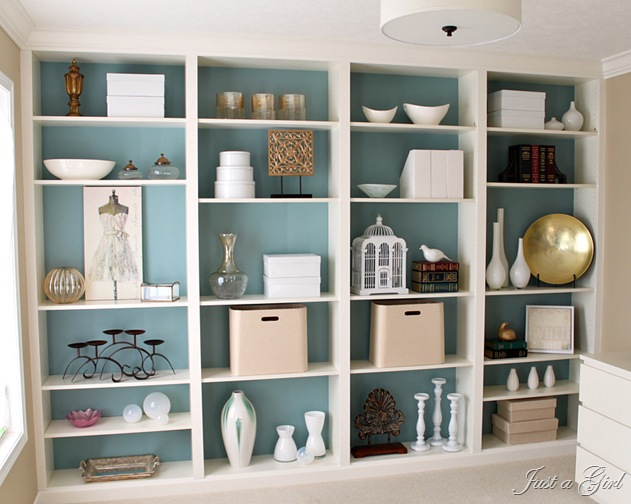 ikea closet shelving ideas - 5 More Ways to Fake Built In Shelving The Sequel