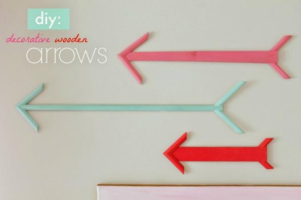Diy Decorative Wooden Arrows From Scrap Wood Infarrantly