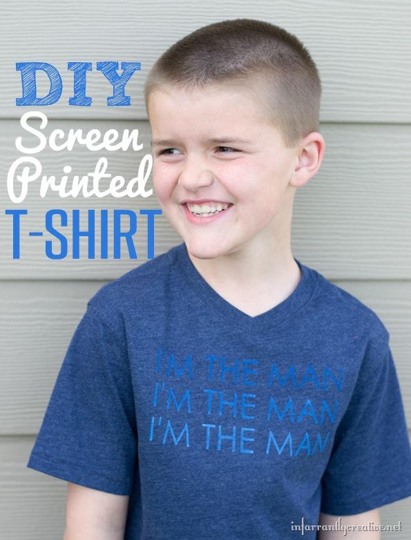 Diy screen printed t shirt for Diy tee shirt printing