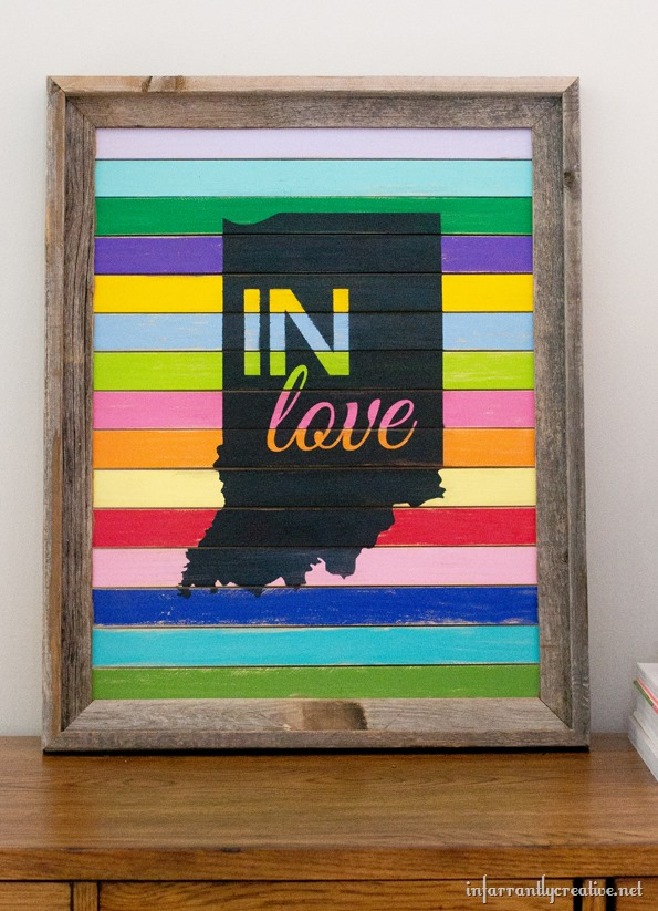 indiana love sign