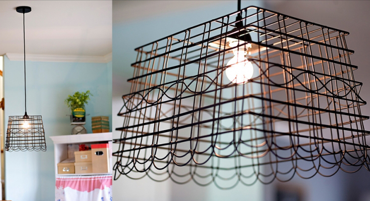 Anthro-inspired-basket-pendant-light